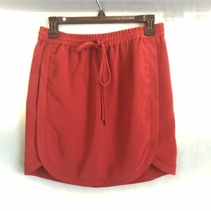 J.Crew mini drawstring skirt